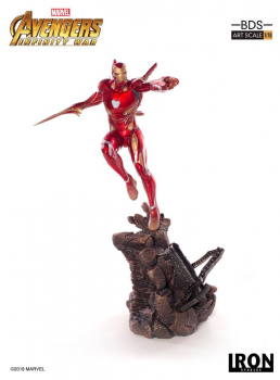 AVENGERS: Infinity War - BDS Art Scale Statue 1/10 Iron Man Mark L (Iron Studios)