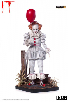 Stephen Kings ES 2017 - Deluxe Art Scale Statue 1/10 Pennywise (Iron Studios)