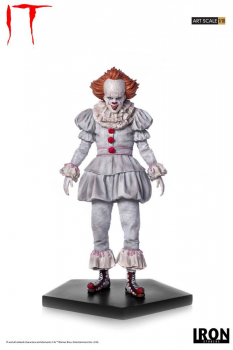 Stephen Kings ES 2017 - Art Scale Statue 1/10 Pennywise (Iron Studios)