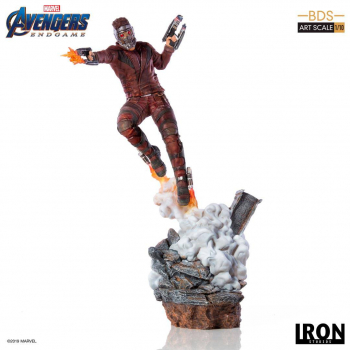 AVENGERS: Endgame - BDS Art Scale Statue 1/10 Star-Lord (Iron Studios)