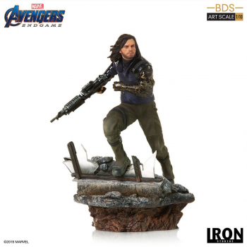 AVENGERS: Endgame - BDS Art Scale Statue 1/10 Winter Soldier (Iron Studios)