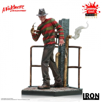 NIGHTMARE ON ELM STREET - Art Scale Statue 1/10 Freddy Krueger Deluxe (Iron Studios)