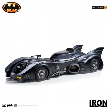 BATMAN (1989) - Art Scale Statue 1/10 Batmobile (Iron Studios)