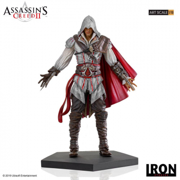 ASSASSINS CREED II - Art Scale Statue 1/10 Ezio Auditore (Iron Studios)