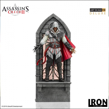 ASSASSINS CREED II - Art Scale Statue 1/10 Ezio Auditore Deluxe (Iron Studios)