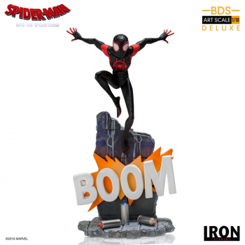 SPIDER-MAN: A New Universe - BDS Art Scale Deluxe Statue 1/10 Miles Morales (Iron Studios)