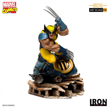 X-MEN - BDS Art Scale Statue 1/10 Wolverine  (Iron Studios)