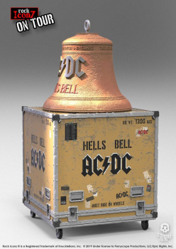 ROCK ICONZ - On Tour Statuen AC/DC Hell's Bell (Knucklebonz)