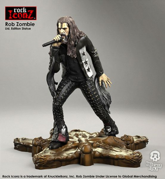 ROCK ICONZ - Rob Zombie Statue (Knucklebonz)