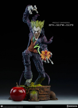 DC COMICS - Gotham City Nightmare Collection Joker Statue (Sideshow)