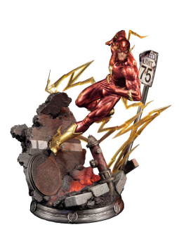 JUSTICE LEAGUE: New 52 - Statue The Flash (Sideshow)