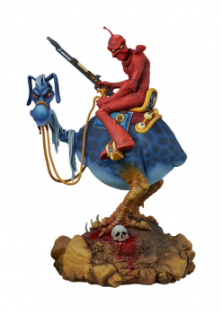 William Stout's Red Rider Statue (Sideshow)