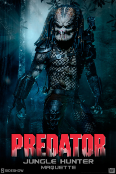 PREDATOR - Maquette Jungle Hunter Predator (Sideshow)