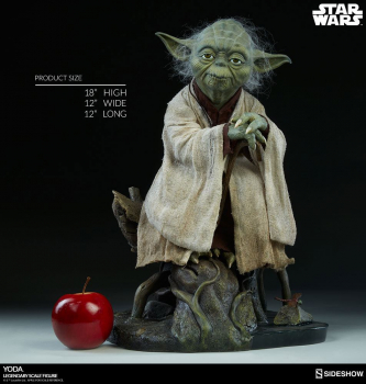 STAR WARS - Legendary Scale Statue 1/2 Yoda (Sideshow)