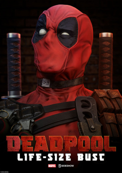 MARVEL COMICS - Büste 1/1 Deadpool (Sideshow)