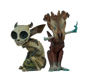 COURT OF THE DEAD: Critters Collection - Statuen Skratch & Riazz (Sideshow)