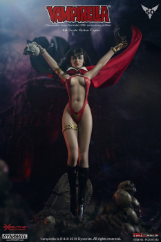 VAMPIRELLA - Actionfigur 1/6 Vampirella by Jose Gonzalez 50th Anniversary Edition (TBLeague)