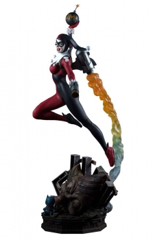 DC COMICS: Super Powers Collection - Maquette Harley Quinn (Tweeterhead)