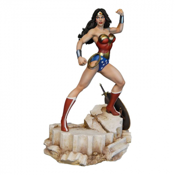 DC COMICS: Super Powers Collection - Maquette Wonder Woman (Tweeterhead)