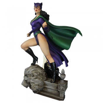 DC COMICS: Super Powers Collection - Maquette Catwoman (Tweeterhead)