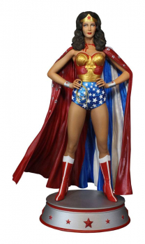 DC COMICS - Maquette Wonder Woman Cape Variant (Tweeterhead)