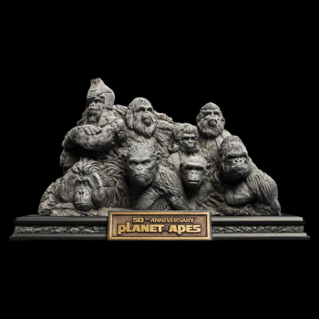 PLANET DER AFFEN - Statue Apes Through the Ages (WETA)
