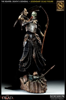 COURT OF THE DEAD - Legendary Scale Statue - The Reaper - Death`s General (Sideshow)