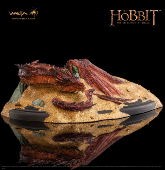 DER HOBBIT - Smaug King Under The Mountain Statue (WETA)