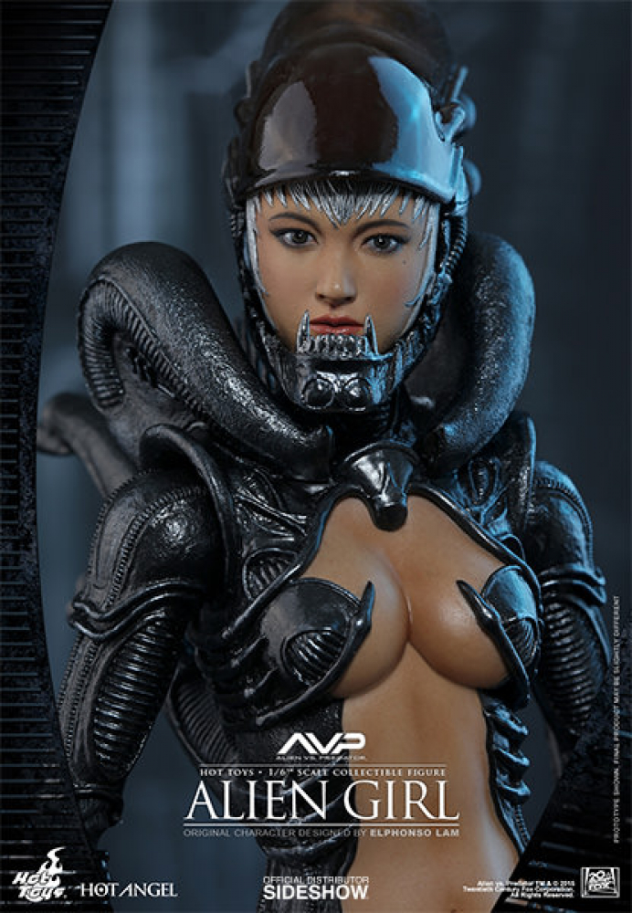 ALIEN vs PREDATOR - Alien Girl 1/6 Actionfigur (Hot Toys)