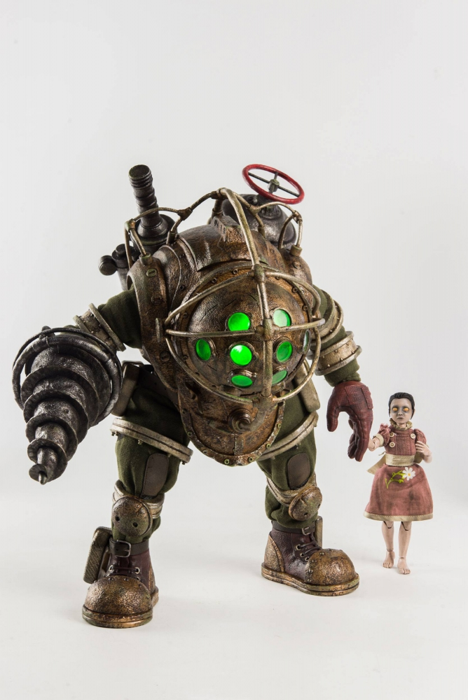 BIOSHOCK - Actionfiguren Doppelpack 1/6 Big Daddy & Little Sister (ThreeZero)