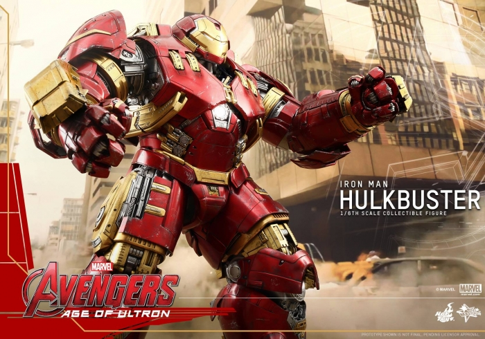 AVENGERS - Age of Ultron - MMS Actionfigur Hulkbuster (Hot Toys)