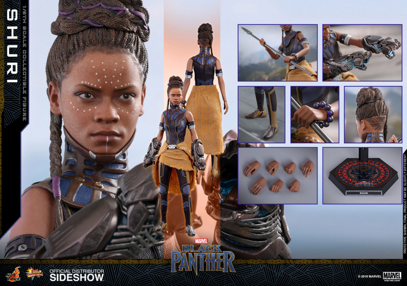 BLACK PANTHER - Movie Masterpiece Actionfigur Shuri (Hot Toys)
