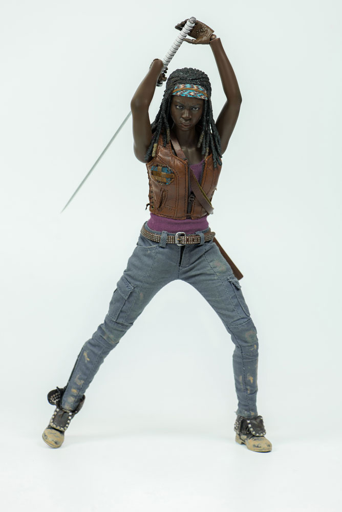 THE WALKING DEAD - Michonne & Michonne`s Pets 1/6 Actionfiguren (ThreeZero)