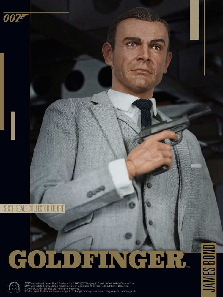 JAMES BOND: Goldfinger - Collector Figure Series Actionfigur 1/6 James Bond (Grey Suit) (Big Chief Studios)
