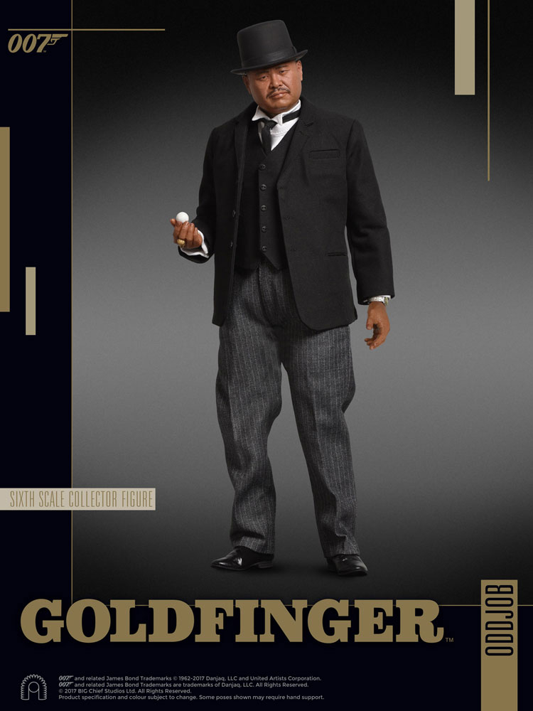 JAMES BOND: Goldfinger - Collector Figure Series Actionfigur 1/6 Oddjob (Big Chief Studios)