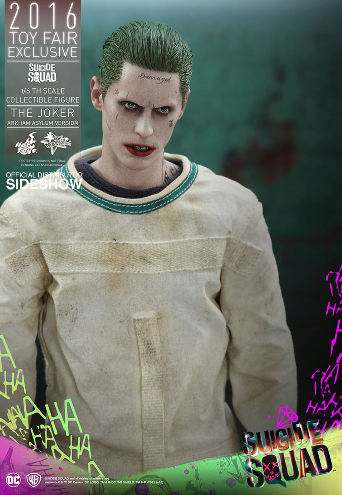 SUICIDE SQUAD - The Joker (Arkham Asylum Ver.) 2016 Toy Fair Exclusive (Hot Toys)