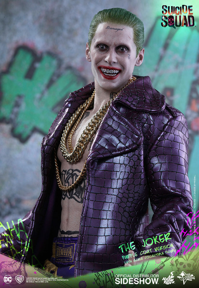 SUICIDE SQUAD - Movie Masterpiece Actionfigur 1/6 The Joker (Purple Coat Version) (Hot Toys)
