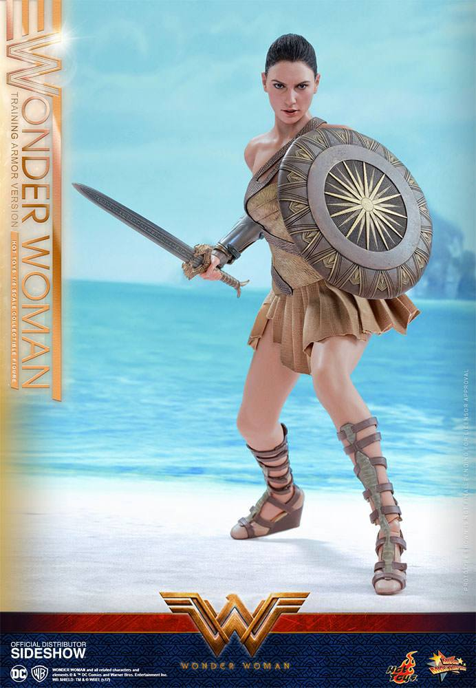 WONDER WOMAN - MMS Actionfigur Wonder Woman Training Armor Ver. (Hot Toys)