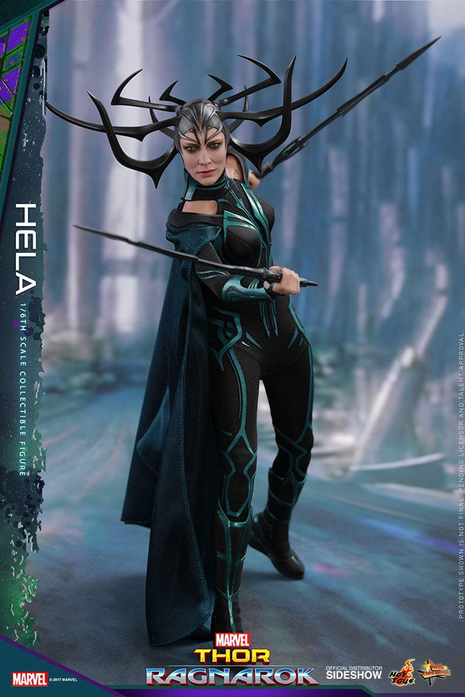 THOR: Ragnarok - Movie Masterpiece Actionfigur 1/6 Hela (Hot Toys)