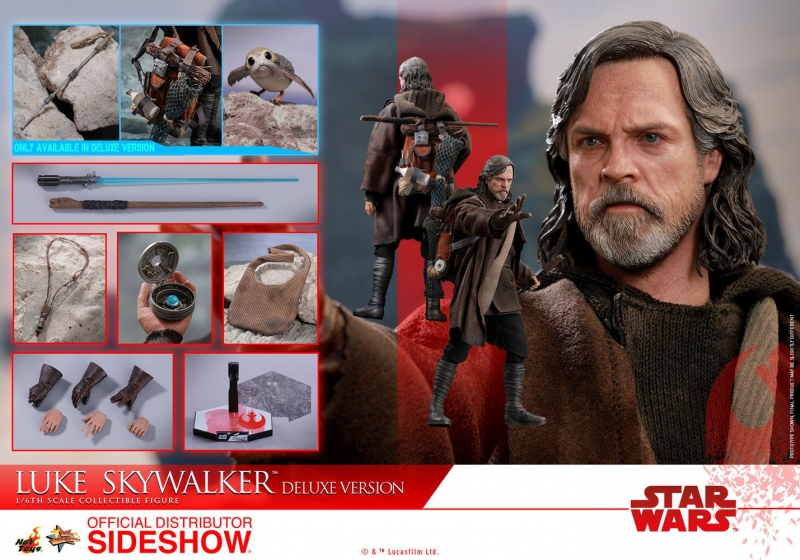STAR WARS: Episode VIII - MMS Actionfigur 1/6 Luke Skywalker Deluxe Version (Hot Toys)