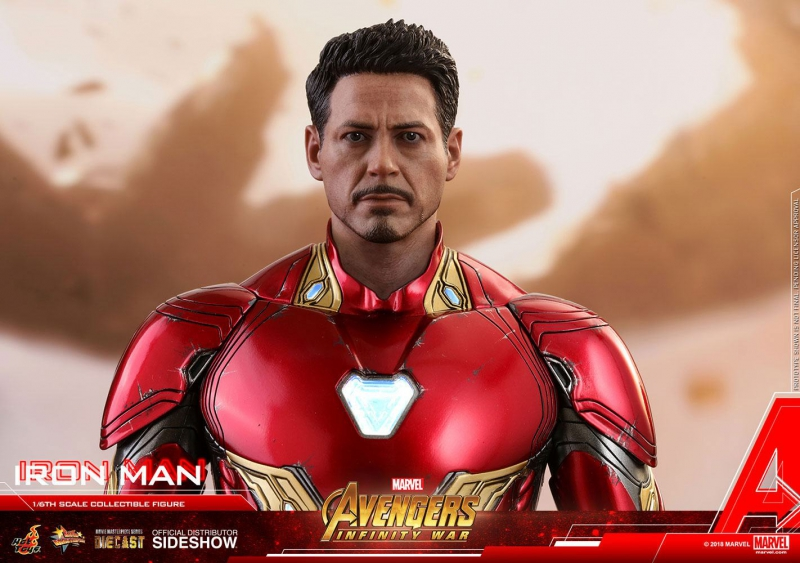 AVENGERS: Infinity War - Diecast Movie Masterpiece Actionfigur 1/6 Iron Man (Hot Toys)