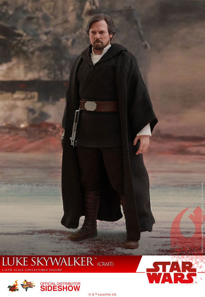 STAR WARS: Episode VIII - Masterpiece Actionfigur 1/6 Luke Skywalker Crait (Hot Toys)