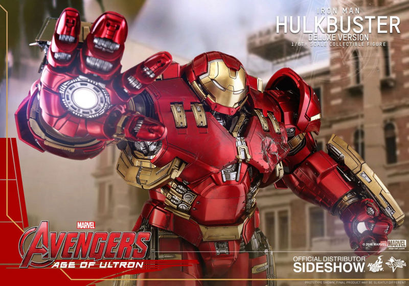 AVENGERS: Age of Ultron - Movie Masterpiece Actionfigur 1/6 Hulkbuster Deluxe Ver. (Hot Toys)