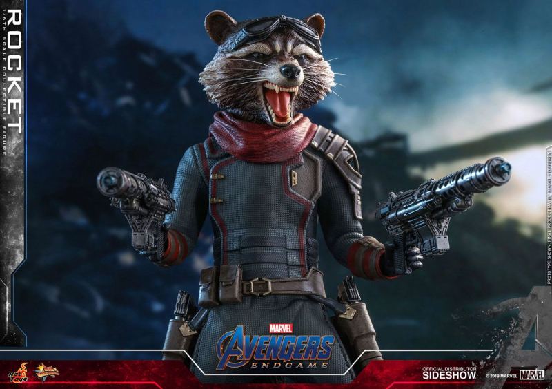 AVENGERS: Endgame - Movie Masterpiece Actionfigur 1/6 Rocket (Hot Toys)