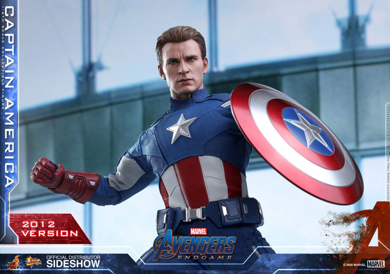 AVENGERS: Endgame - Movie Masterpiece Actionfigur 1/6 Captain America (2012 Version) (Hot Toys)