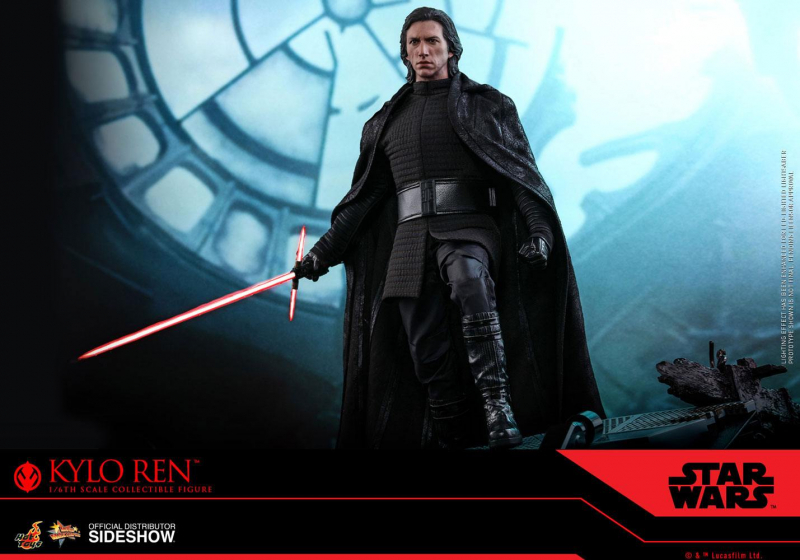 STAR WARS: Episode IX - Movie Masterpiece Actionfigur 1/6 Kylo Ren (Hot Toys)