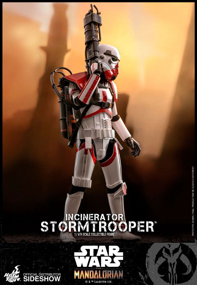 STAR WARS: The Mandalorian - Actionfigur 1/6 Incinerator Stormtrooper (Hot Toys)