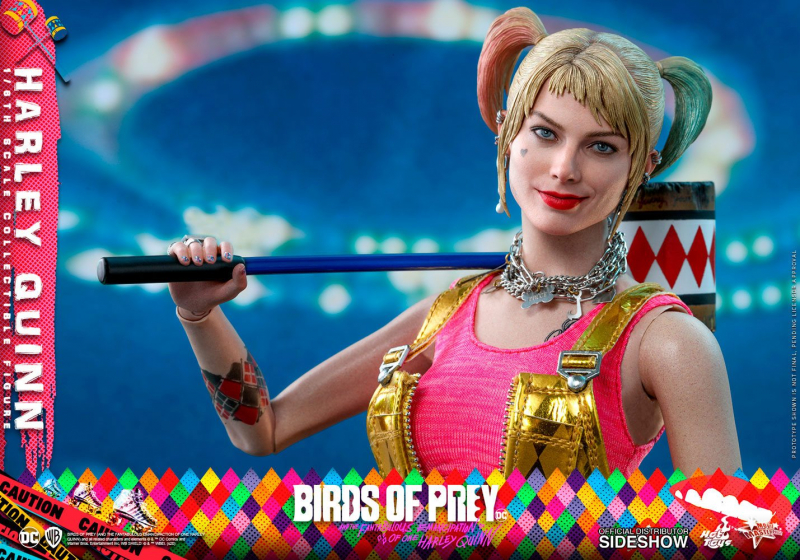 BIRDS OF PREY - Movie Masterpiece Actionfigur 1/6 Harley Quinn (Hot Toys)