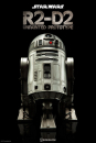 STAR WARS -Actionfigur R2-D2 Unpainted Prototype 2016 Con Exclusive (Sideshow)